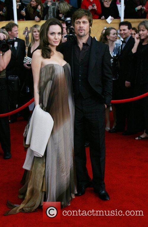 Angelina Jolie and Brad Pitt 14th Annual Screen...