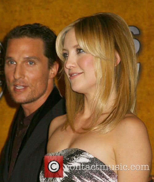 Matthew McConaughey and Kate Hudson 14th Annual Screen...