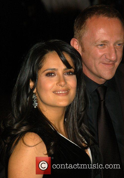 * HAYEK GIVES BIRTH TO GIRL Actress SALMA...