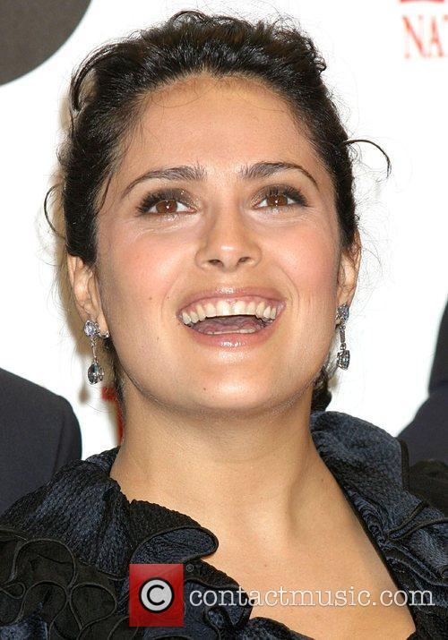 * HAYEK GIVES BIRTH TO GIRL Actress SALMA...