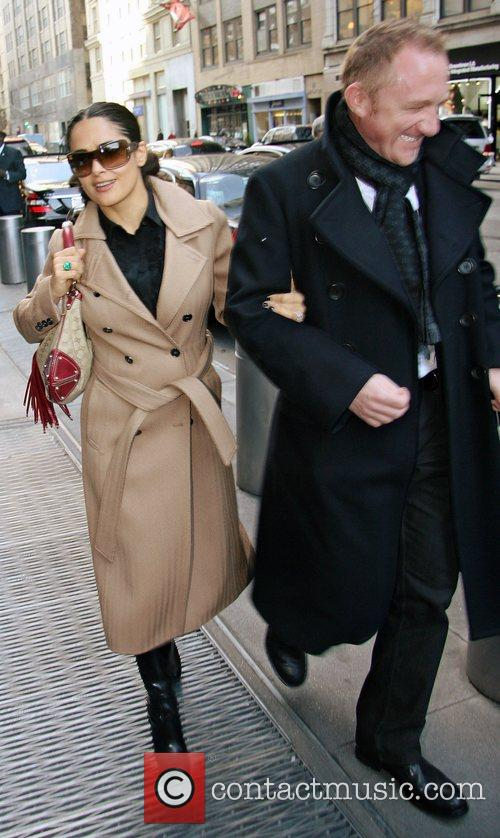 Salma Hayek and Francois-henri Pinault 6