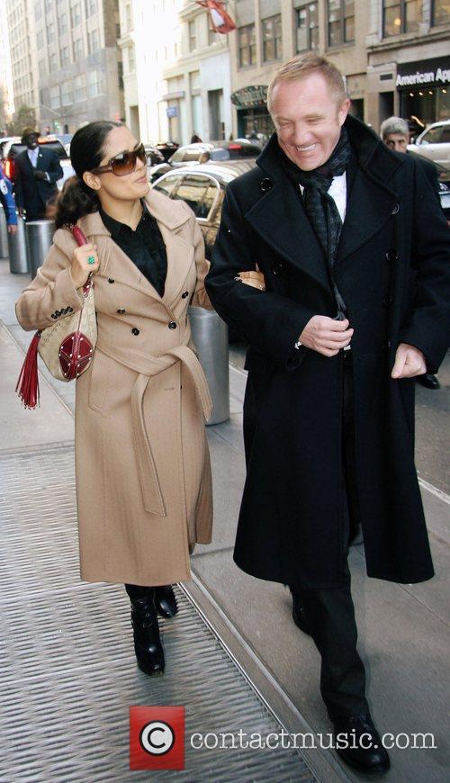 Salma Hayek and Francois-henri Pinault 3