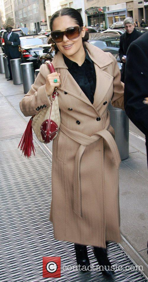 Salma Hayek out and about in Manhattan