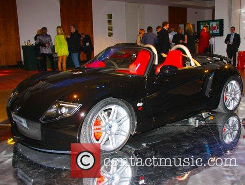 The launch of the Super Cars at Salon...