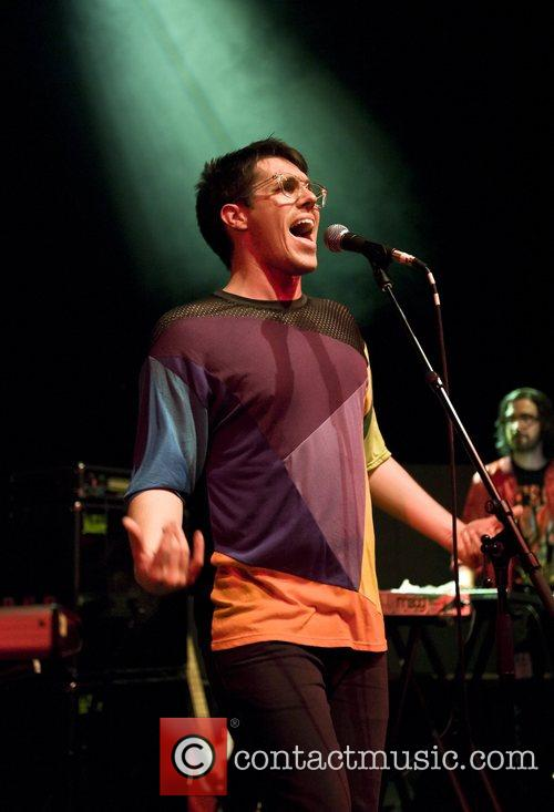 Sam Sparro performing in concert at the Shepherds...