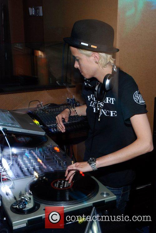 DJ Samantha Ronson at Torrid Nightclub
