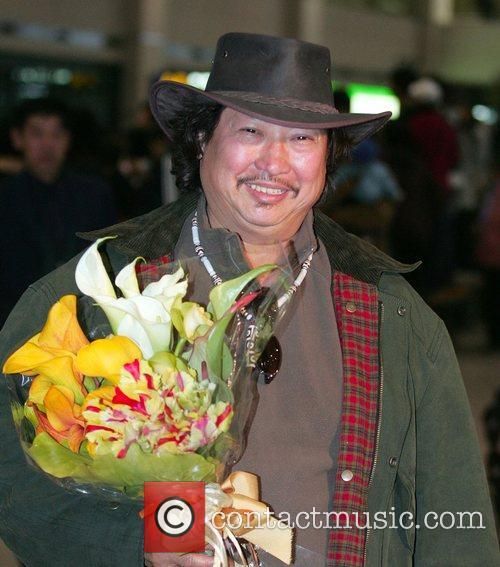 Sammo Hung Kam-Bo arrives at Incheon International Airport...