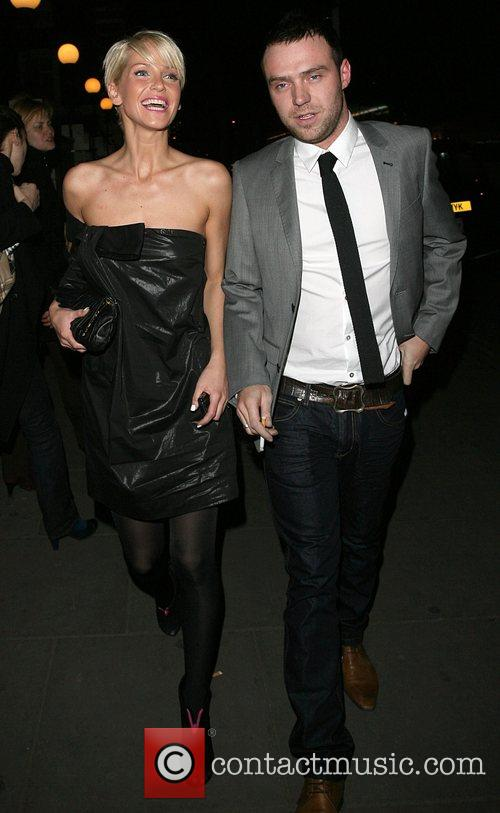 Sarah Harding and Tom Crane Samsung gala dinner...