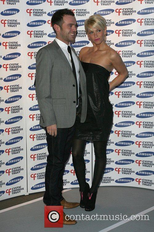 Sarah Harding and boyfriend Tom Crane Samsung Gala...