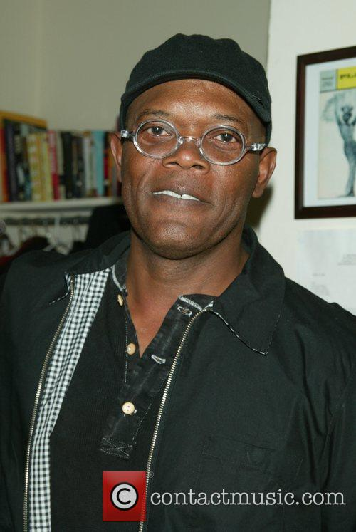 Samuel L Jackson at the Broadway musical 'Passing...