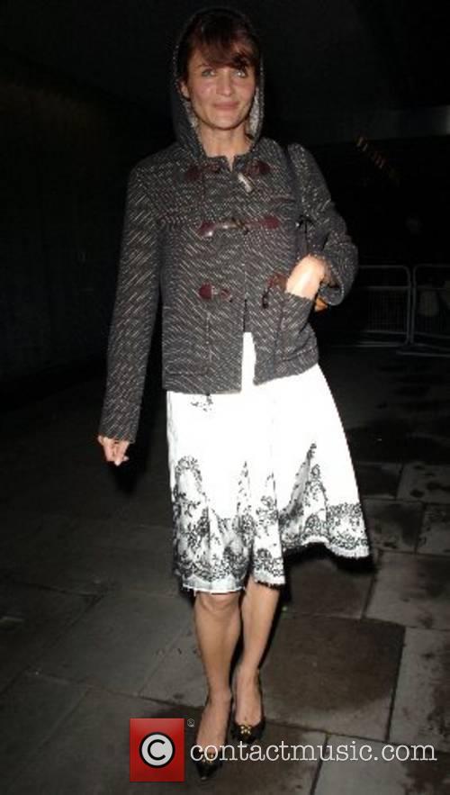 Helena Christensen An Evening At Sanderson charity reception...