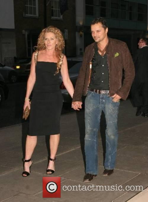 Kelly Hoppen and guest An Evening At Sanderson...