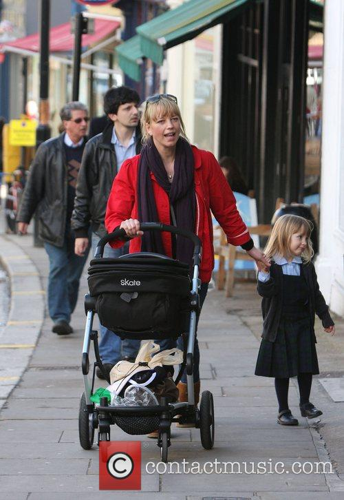 Shopping in Camden with her daughter