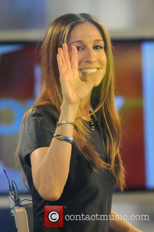 Sarah Jessica Parker appearing on 'The Today Show'...