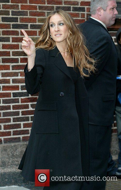 Sarah Jessica Parker and David Letterman 6