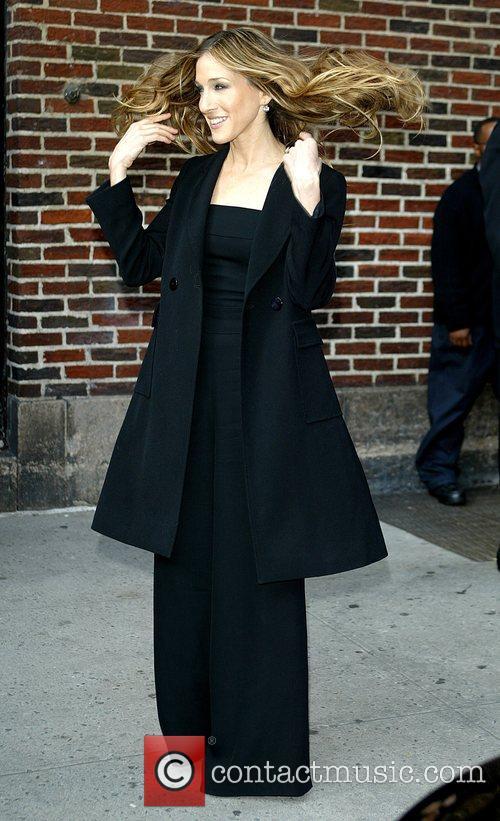 Sarah Jessica Parker and David Letterman 9
