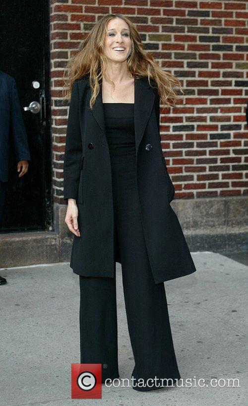 Sarah Jessica Parker and David Letterman 8