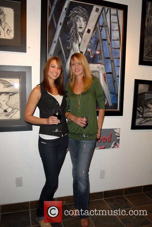 George Clooney's girlfriend Sarah Larson at the artist...