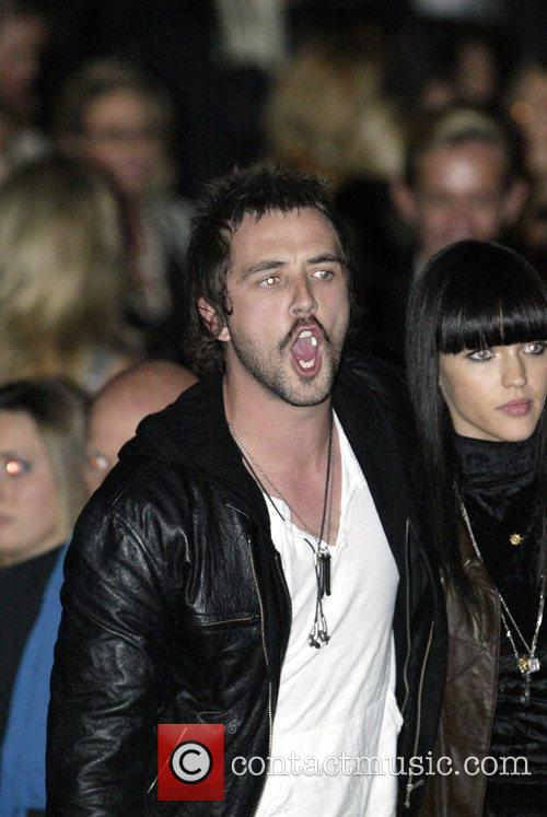 Darren McMullen and Ruby Rose Australian Fashion Week...