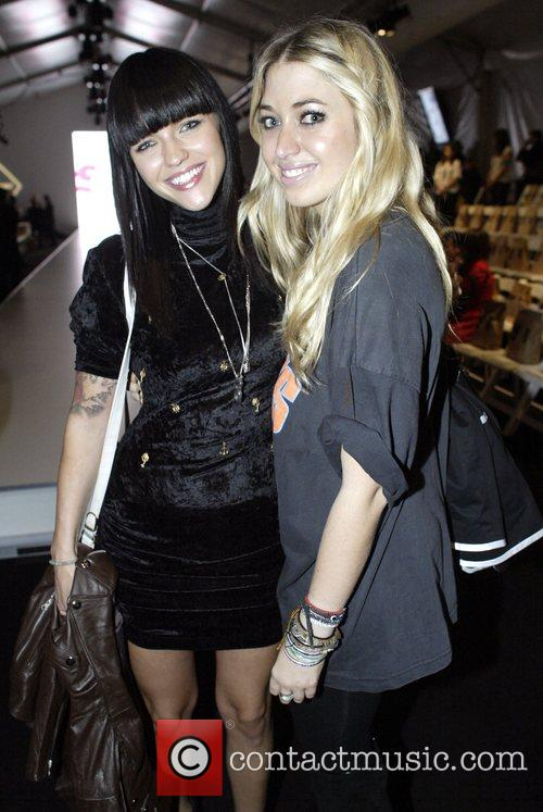Ruby Rose and Milly Gattegno Australian Fashion Week...