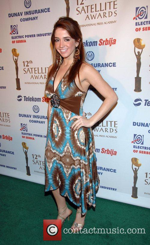 12th annual Satellite Awards held at the InterContinental...