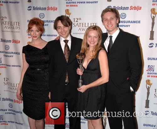 Christina Hendricks, Vincent Kartheiser, Elizabeth Moss and Aaron...