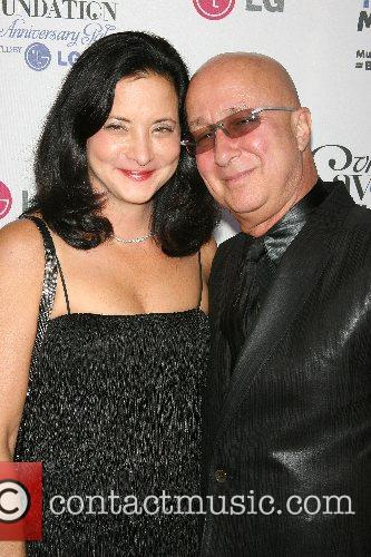 Paul Schaffer and wife VH1's Save The Music...