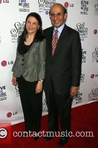 Joel Klein and wife VH1's Save The Music...