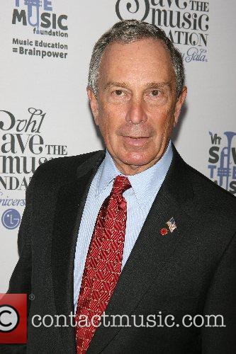 NYC Mayor Michael Bloomberg VH1's Save The Music...