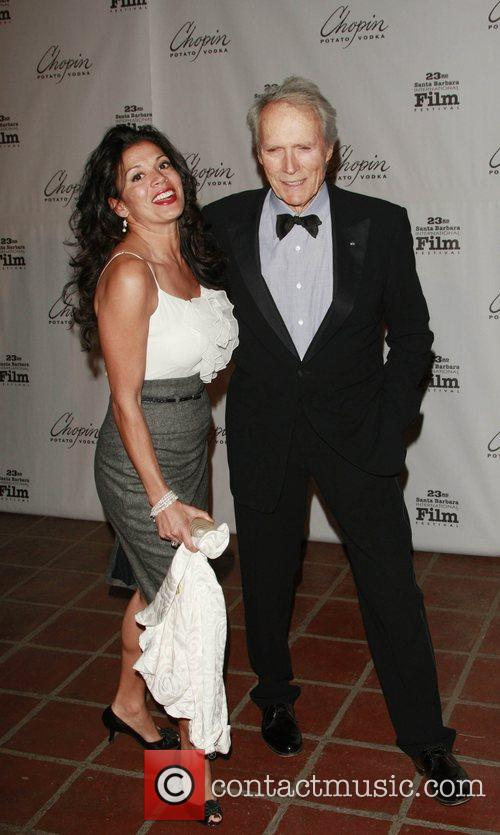 Dina and Clint Eastwood