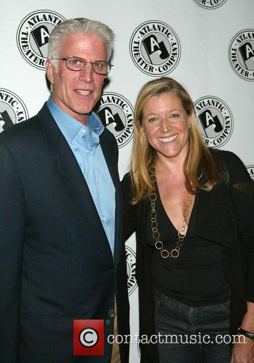 Ted Danson and Atlantic School Director Mary McCann...