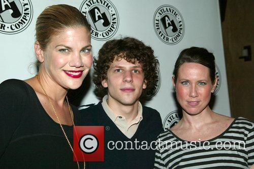 Kristen Johnston, Jesse Eisenberg and Miriam Shor Opening...