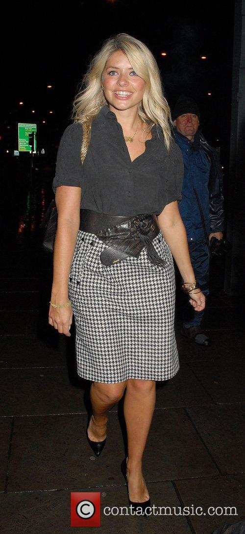 Holly Willoughby Launch party of the new TV...