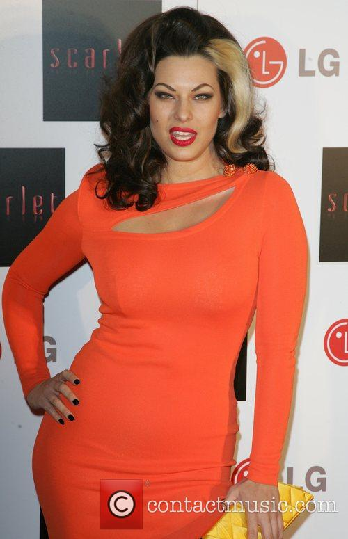 Immodesty Blaize Launch party of the new TV...