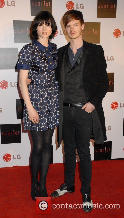 Sophie Ellis-Bextor and Richard Jones,  Launch party...