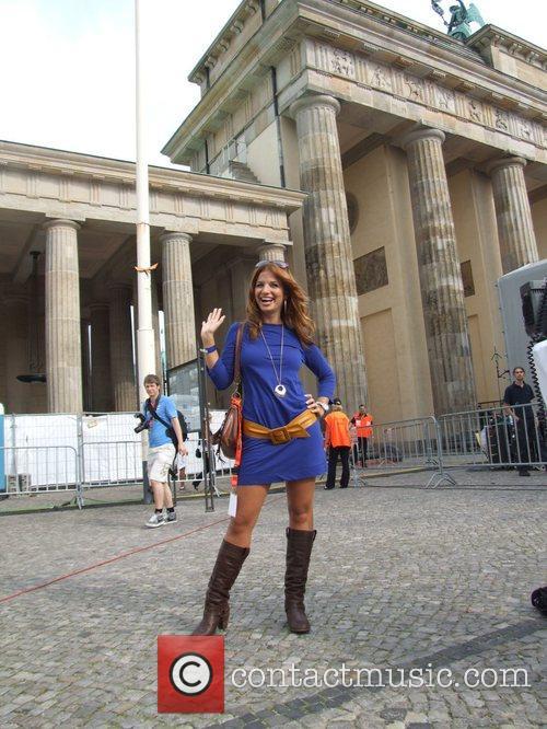 Susan Sideropoulos Backstage at the Schau nicht weg!...