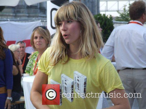 Mieze from Mia Backstage at the Schau nicht...
