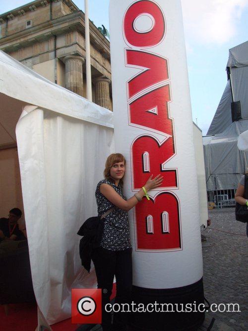 Anja Thiemann Backstage at the Schau nicht weg!...