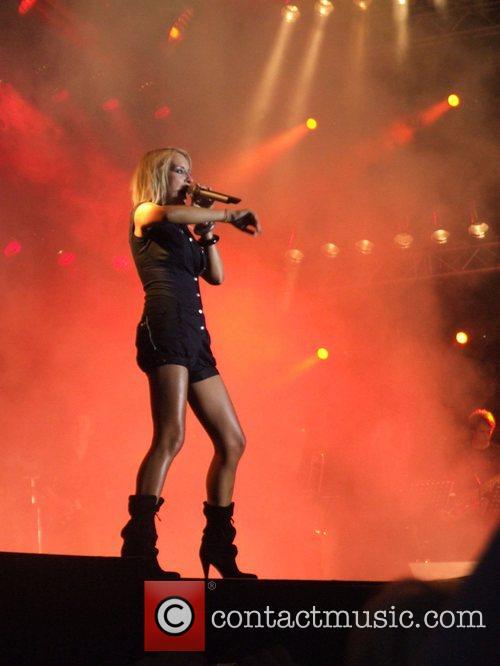 Sarah Connor Performing at the Schau nicht weg!...