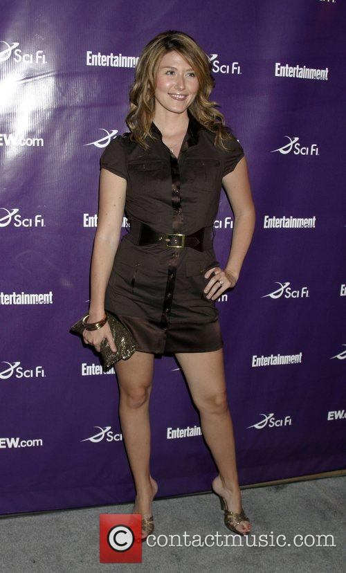 Jewel Staite Entertainment Weekly & SciFi Comic-Con Party...