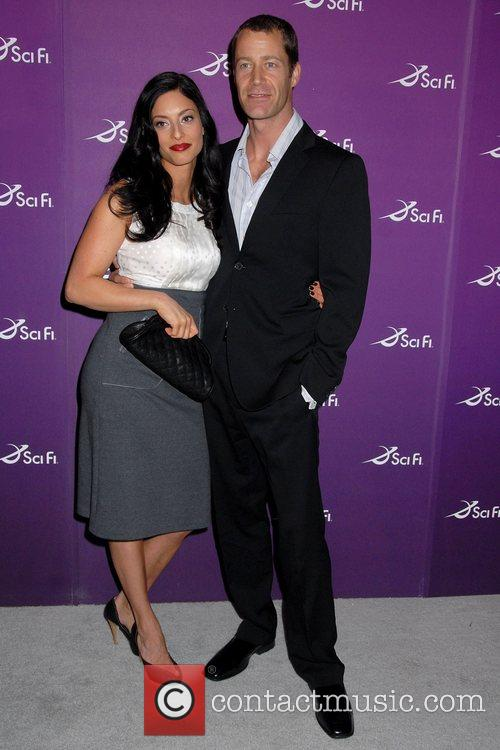 Erica Cerra and Colin Ferguson Sci Fi Channel...