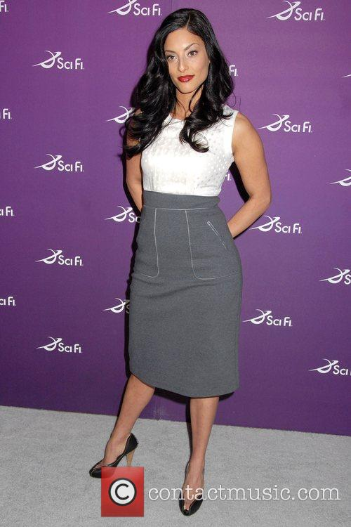 Erica Cerra Sci Fi Channel 2008 Upfronts at...