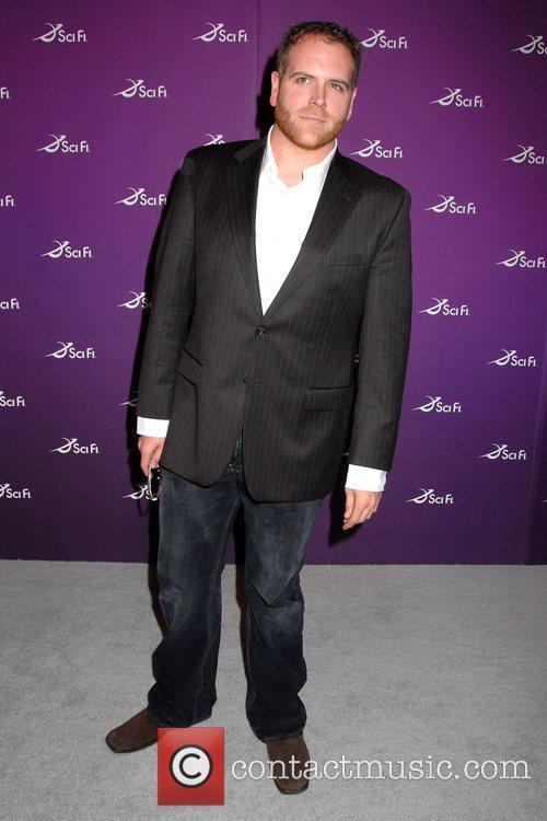 Josh Gates Sci Fi Channel 2008 Upfronts at...