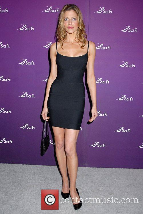 Tricia Helfer Sci Fi Channel 2008 Upfronts at...