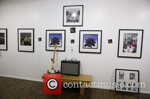 The launch of 195 limited edition signed prints...
