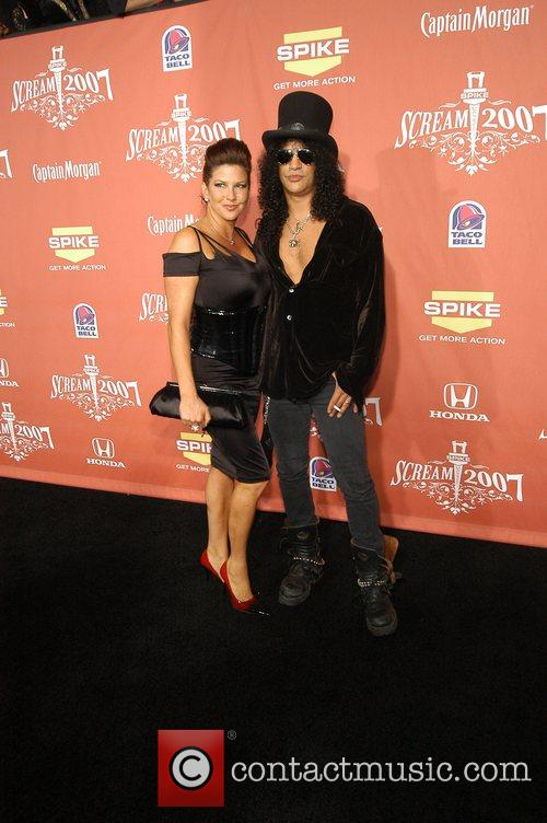 Slash and his wife Spike TV's