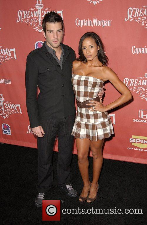 Zachary Quinto and Dania Ramirez 5