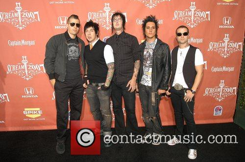 the band 'Avenged Sevenfold' Spike TV presents the...
