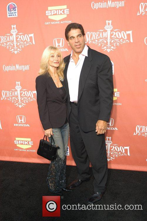 Lou Ferrigno and wife Spike TV presents the...