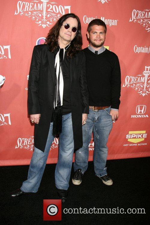 Ozzy Osbourne and Jack Osbourne 2